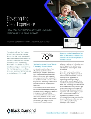 Elevating the Client Experience - How Top-Performing Advisors Leverage Technology to Drive Growth