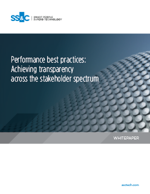 Performance best practices: Achieving transparency across the stakeholder spectrum