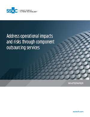 Address operational impacts and risks through component outsourcing services