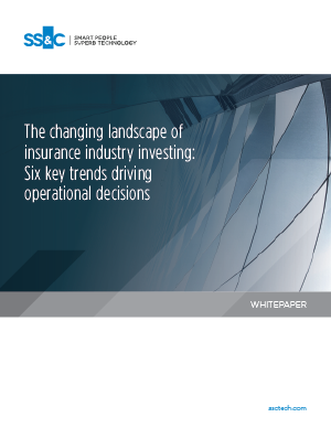 The changing landscape of insurance industry investing: Six key trends driving operational decisions