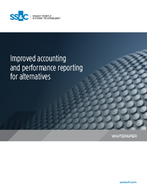 Improved accounting and performance reporting