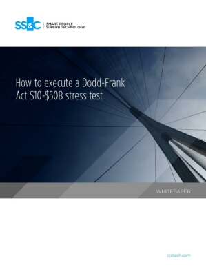 How to execute a Dodd-Frank Act $10-$50B stress test
