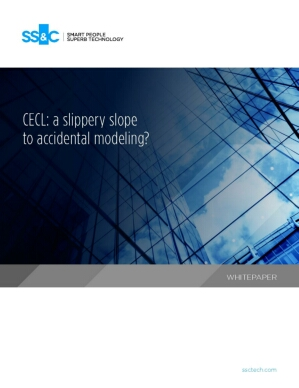CECL: a slippery slope to accidental modeling?
