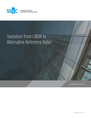 Transition from LIBOR to Alternative Reference Rates