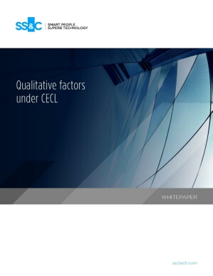 Qualitative factors under CECL