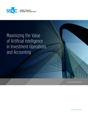 Maximizing the value of artificial intelligence in investment operations and accounting