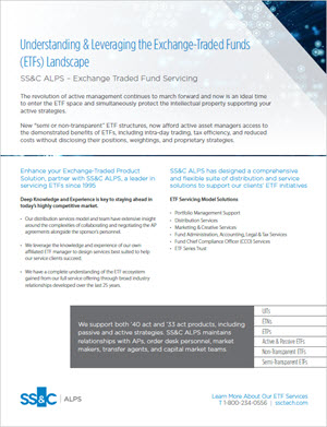 Understanding & Leveraging the Exchange-Traded Funds (ETFs) Landscape